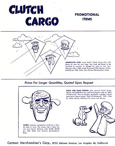 clutch cargo cartoon