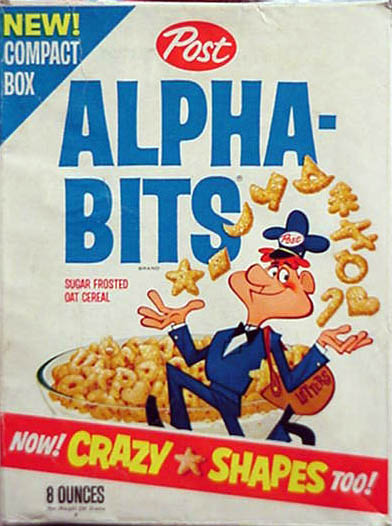 Alphabits - Postman w/ Crazy Shapes - game  sc 1 st  The Imaginary World & Post Cereal Boxes Aboutintivar.Com