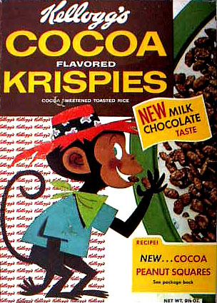Kelloggs Cereal Boxes