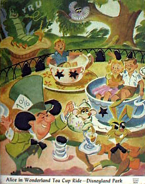 Tea Cups Cartoon